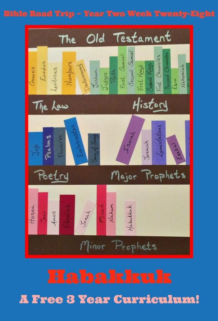 Bible Road Trip Year Two Week Twenty-Eight {FREE Printable Curriculum}
