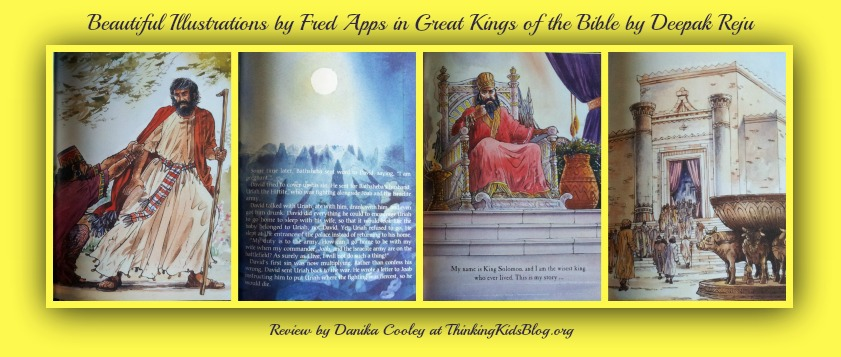 Illustrations by Fred Apps in Great Kings of the Bible