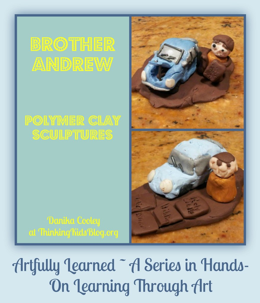 Artfully Learned Brother Andrew Polymer Clay Sculptures {Christian History}