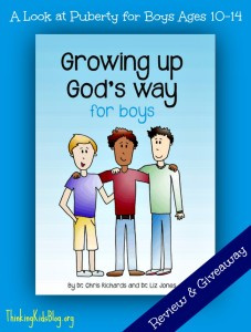 Growing Up God's Way for Boys {Giveaway ends May 14, 2014 10am PST}