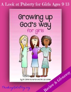 Growing Up God's Way for Girls {Giveaway Ends May 15, 2014 10am PST}