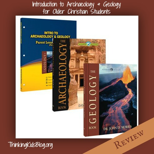 Intro to Archaeology and Geology Pack from Master Books