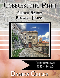 Cobblestone Path The Reformation Age Cover