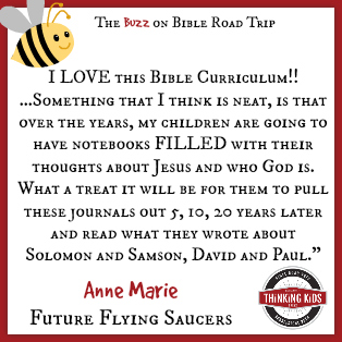 I LOVE this Bible Curriculum! ~ Anne Marie at Future Flying Saucers ~ Have YOU seen Bible Road Trip?