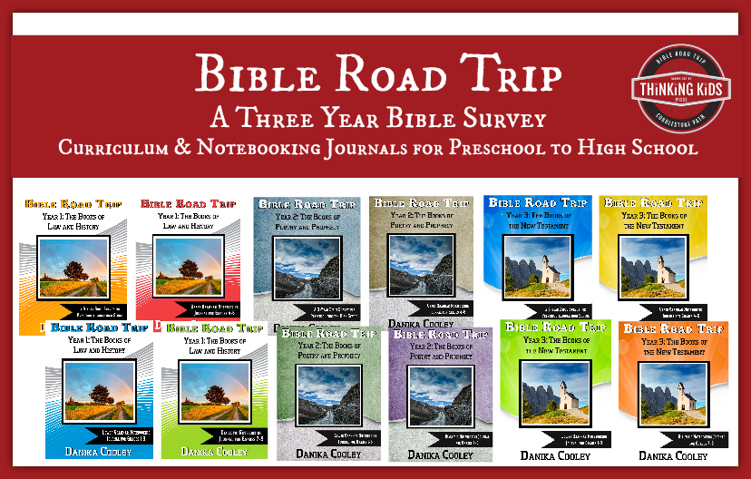 Bible Road Trip is a three-year Bible survey curriculum for preschool to high school. #BibleRoadTrip
