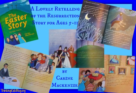 The Easter Story by Carine Mackenzie is a lovely retelling for ages 5-11.