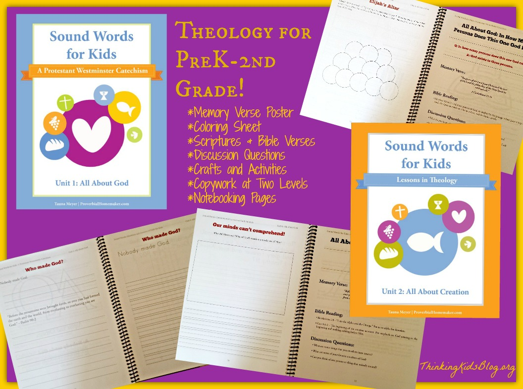 picture relating to Westminster Shorter Catechism Printable named Reliable Terms ~ A Protestant Westminster Catechism for PreK