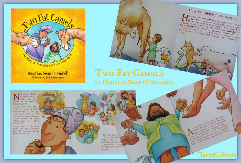 Take a look inside Two Fat Camels ~ a great Bible story for 2-8 year olds!