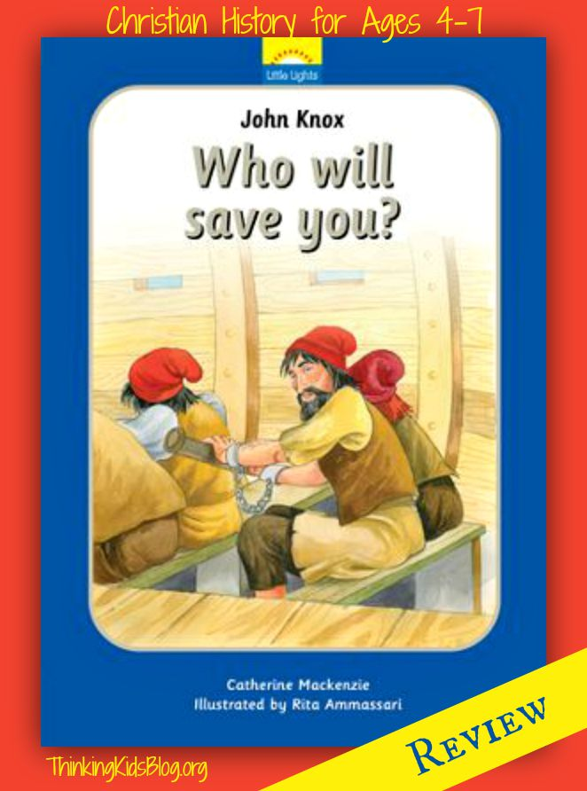 Another great addition to the Little Lights Christian history series for 4-7 year olds!