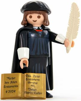 Win a Martin Luther Playmobil figure as well as a copy of When Lightning Struck!: The Story of Martin Luther by Danika Cooley