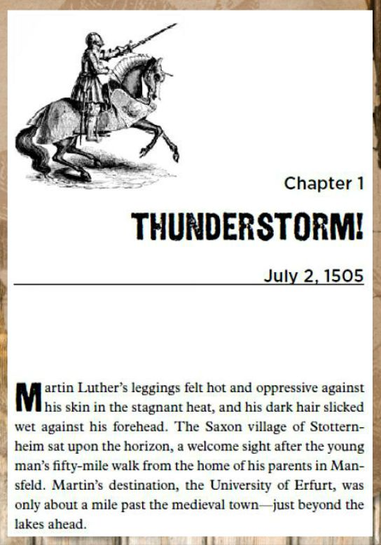 Check out When Lightning Struck!: The Story of Martin Luther
