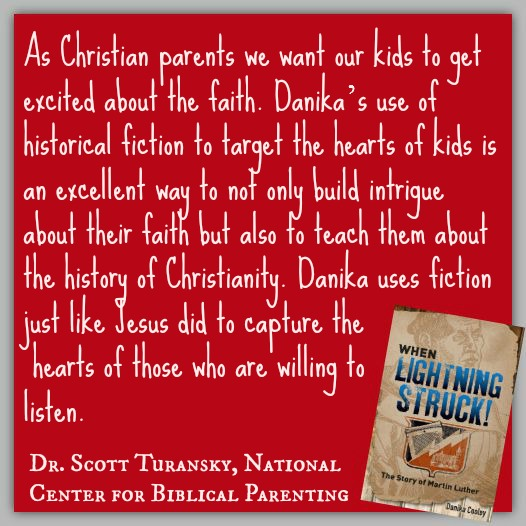 Dr. Scott Turansky of National Center for Biblical Parenting on When Lightning Struck! The Story of Martin Luther