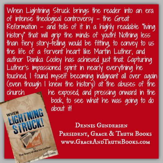 Dennis Gundersen, President of Grace and Truth Books, on When Lightning Struck!
