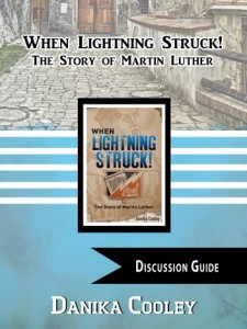 Free discussion guide for When Lightning Struck! The Story of Martin Luther ~ Perfect for grades 3-12