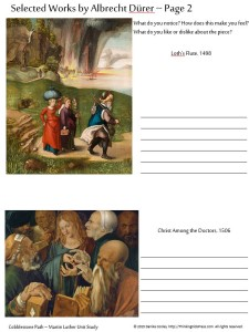 Free 12-Week Martin Luther Unit Study