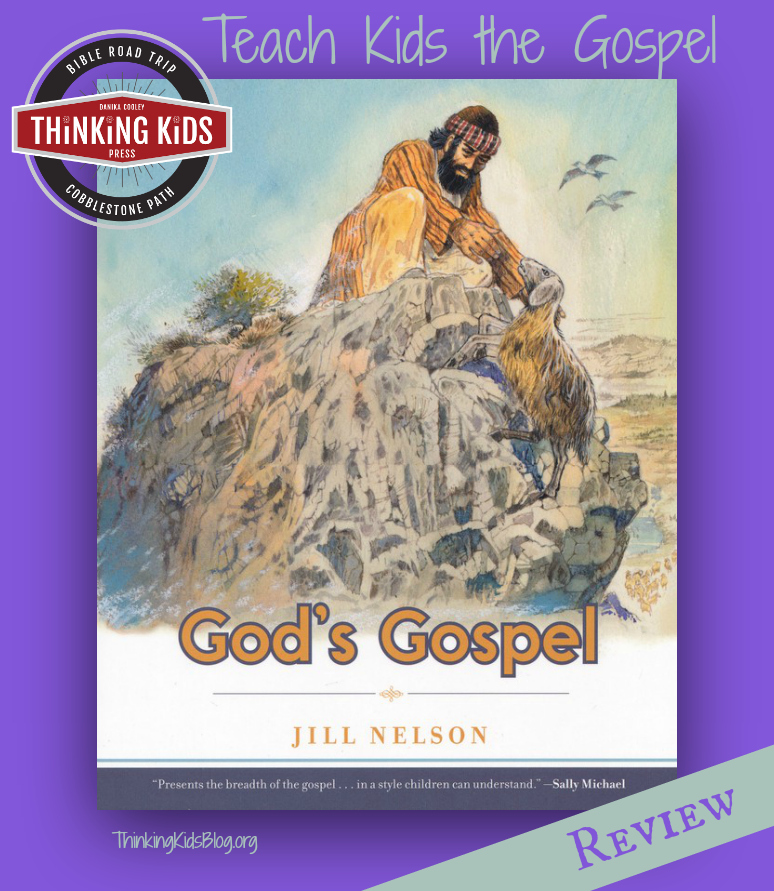 God's Gospel by Jill Nelson is a great family devotional!