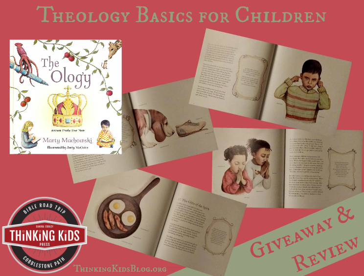Check out this great theology book for kids! Giveaway ends 12/11/15. The Ology by Marty Machowski