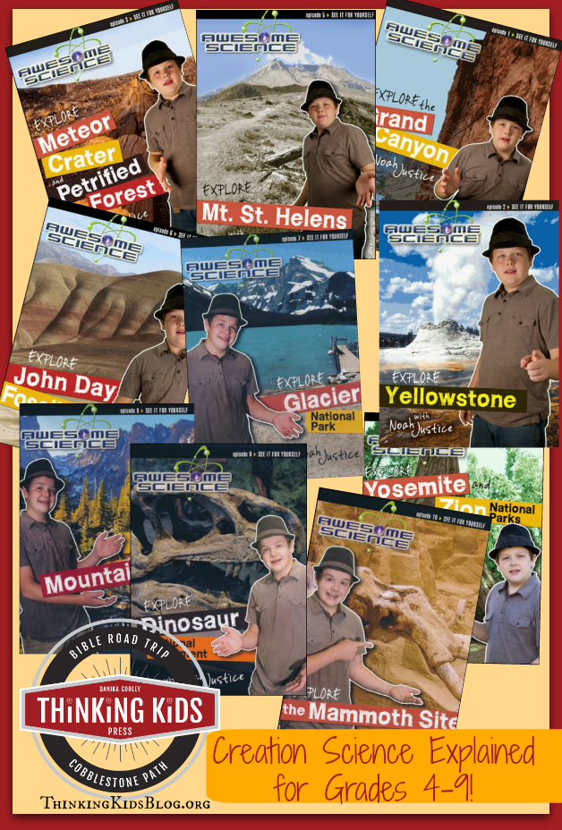 Check out the fabulous Awesome Science with Noah Justice series! #CreationScience