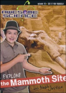 Check out the fabulous Awesome Science with Noah Justice series! #CreationScience ~ Learn about the science of the Mammoth Site!