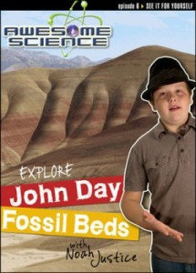 Check out the fabulous Awesome Science with Noah Justice series! #CreationScience ~ Learn about the science of John Day Fossil Beds!