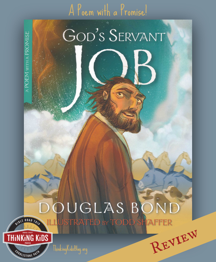 God's Servant Job is a fabulous poem of our Redeemer Jesus and how we can be faithful in the hard times.