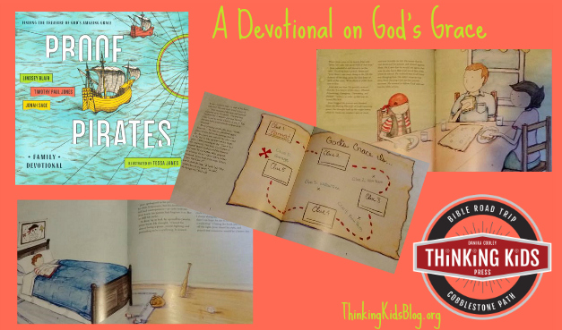 PROOF Pirates tells the story of God's Amazing Grace --and there are 7 devotionals to boot!