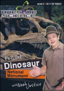 Check out the fabulous Awesome Science with Noah Justice series! #CreationScience ~ Learn about the science of Dinosaur National Monument!