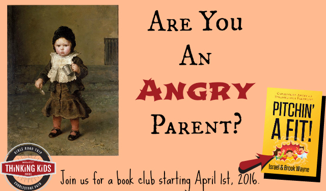 Are you an angry parent? Stressed-out or overwhelmed? Join us for a book club starting April 1, 2016. #parenting