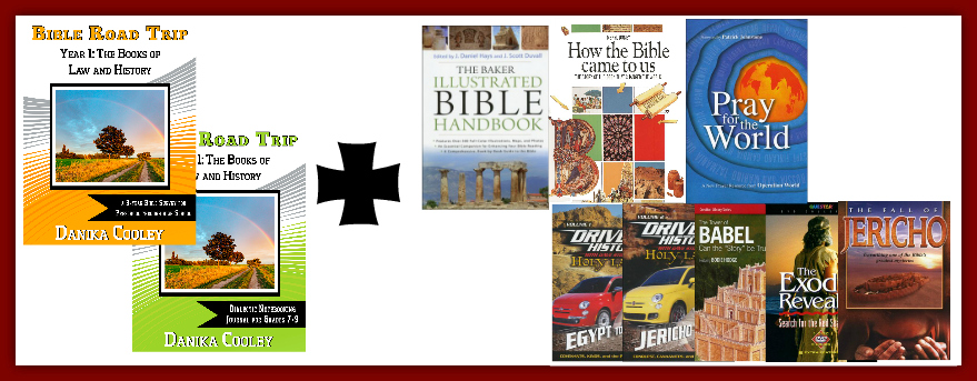 Bible Road Trip Giveaway 3/29/16-4/12/16 ~ Choose Your Year. Choose Your Level.