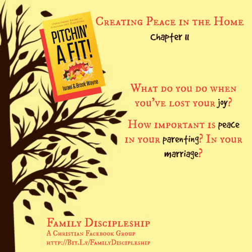 Exchanging Anger for Peace {Pitching A Fit Book Club Chapters 10-12}