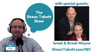 Israel and Brook Wayne chat about their new book on parental anger, Pitchin a Fit on The Shaun Tabatt Show.